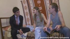 Teens furnish their flat