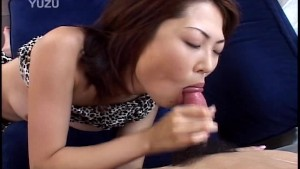 She sucks and gets fingered