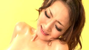 Oiled Up Asian Babe