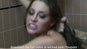 Schoolgirl Gracie Glam Gets NAILED in Bathroom