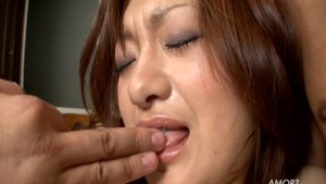 Cute Asian girl moans a lot