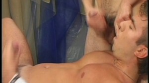 Jocks jerk off together - PIG DADDY
