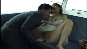 Oral fun in the back of the van