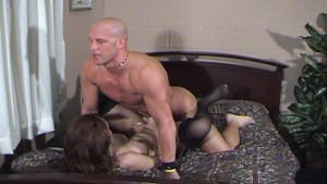 Giselle fucking her bald man - Dane Productions