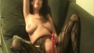 Bubble Girl Playing Dildo