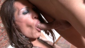 Built Tgirl banged by a stud - Latin-Hot