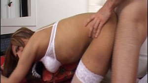 Pretty trans girl gets fucked - Latin-Hot