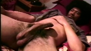 Thug with afro jerking-off - Encore Video (Ray Rock Studios)