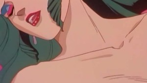 This anime girl is horny