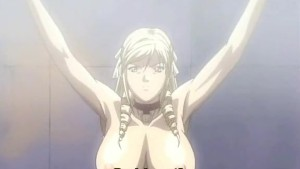 Busty babe in hentai porn