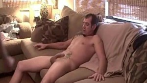Hot Quickie on the Couch