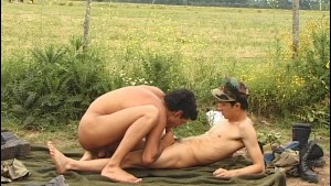 Soldier twinks outdoor sex - Latin-Hot