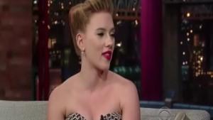 Scarlett Johansson - Letterman
