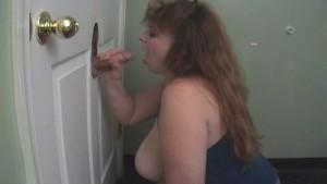 Big Boobs Cheryl Works Cocks At A Glory Hole