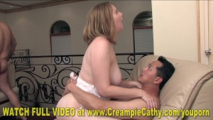 Mia and Cathy Gang Creampie