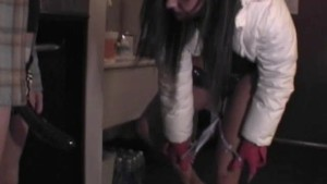 Party Girl Strap-on Hotel Fun