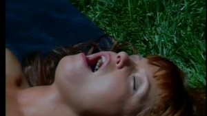 Redhead fucks Nick Manning outdoors - Future Works