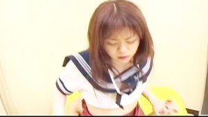 Maria Hidaka rides cock in school clothes