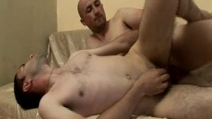 Hard cock goes straight bareback