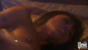 Horny young Asian wife Kaylani Lei rides her husband s hard dick