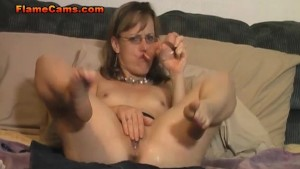 Tiny Tits MILF Pussy Squirting