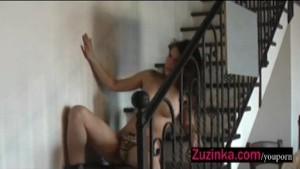 Zuzinka s hot blow job action