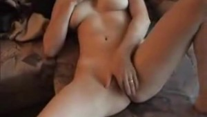 Amateur couple fucks in homemade video