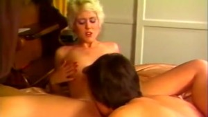 Blonde nicely treating hard dick