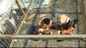 Reiko Kudo and Rika Akiyana outdoor sex