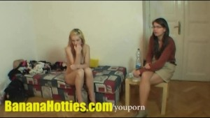 Fresh Tereza - double BJ and threesome at the 1st casting