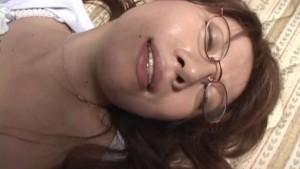 Uncensored Japanese Amateur Sex: Fugazi AMAZING Girl In Glasses Sex 1
