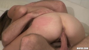 Peeping neighbour catches young couple fucking at home