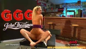 Hot blonde Jessy is good with cocks