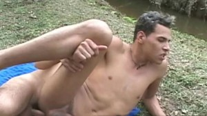Twink Latino Outdoor Bareback