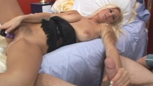 Big Cock For Sexy Long legged Blonde