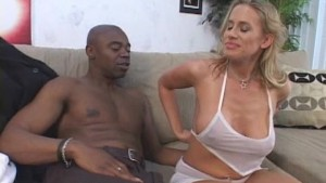 Worshipping Her First Black Cock