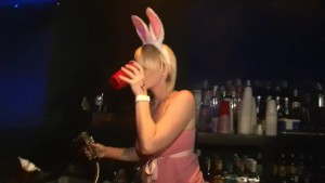 Blonde bunny in pink - DreamGirls