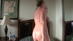 Blonde College Babe Teases On Cam - DreamGirls