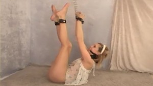 Skinny teen all tied up - Fitzgerald Media