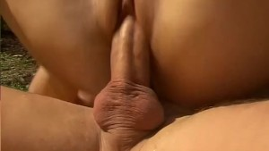 Busty Babe Fucked In The Garden - Pleasure Photorama