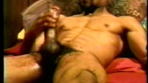 Solo Black Guy Jerking-Off - Encore Video