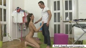 Jana is here just to try teen anal sex