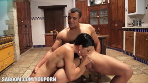 Carla Pons shows her Big Tits at Saboom