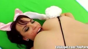 EvilAngel Sasha Grey Lesbian ANAL TOYS Play Time
