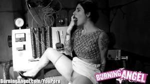 Burning Angel James Deen and Joanna Fuckenstein Horror Porn