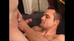 Real couple in front of a cam for the first time - Gay Amateur Spunk