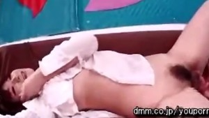 Japanese Chick Gets Drilled Hard