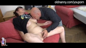 Old mature and girl blow cock