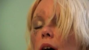 Blonde With Natural Tits Got Hard Fucked By His Boyfriend