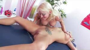 Leya Falcon s Lesbian Massage